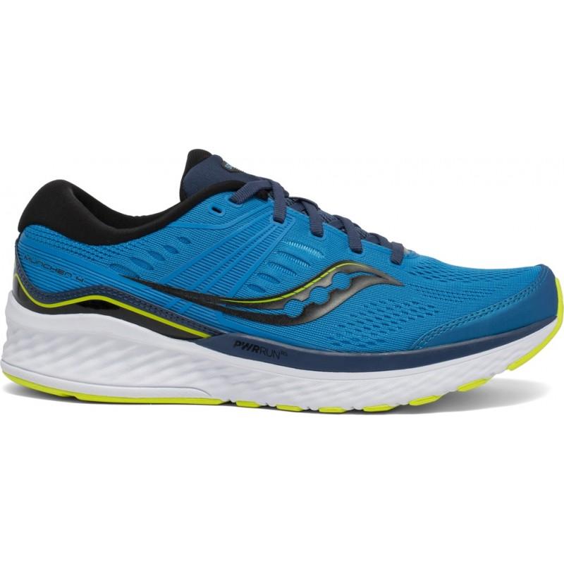 Saucony Muenchen 4 Men's Running Shoe Cobalt/Citrus