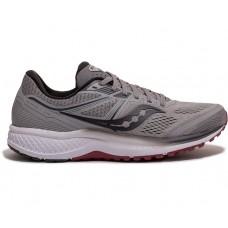 Saucony Omni 19 Wide Men's Running Shoe Alloy/Brick