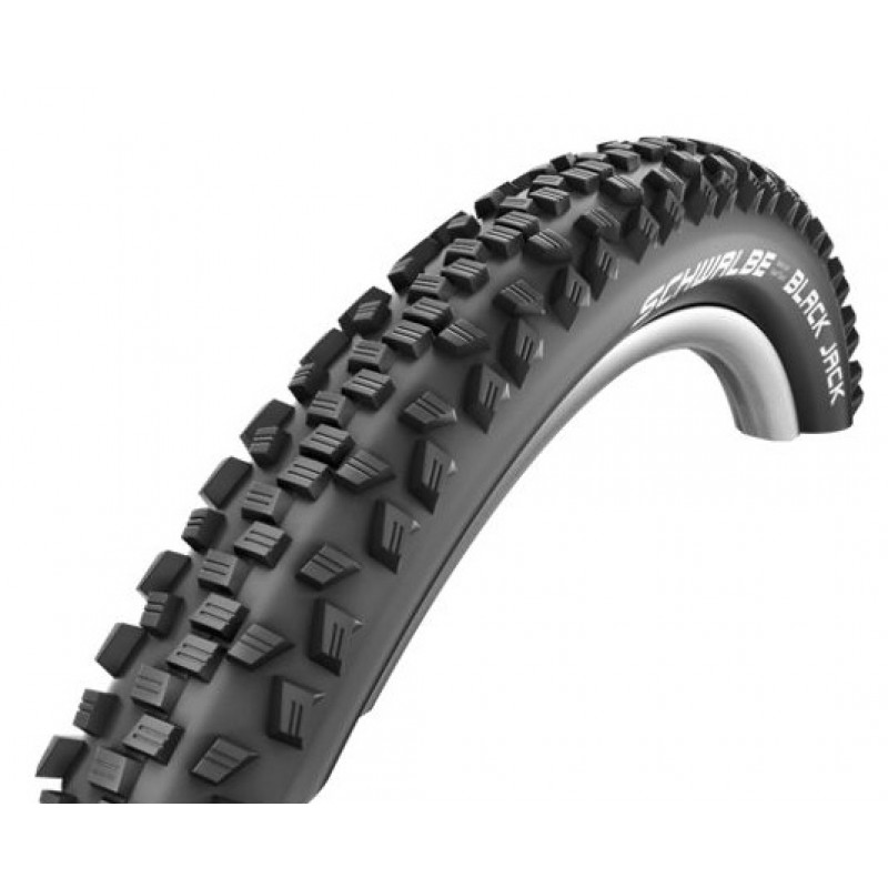 Schwalbe 54-559 (26x2.10) Black Jack MTB Wired Tire