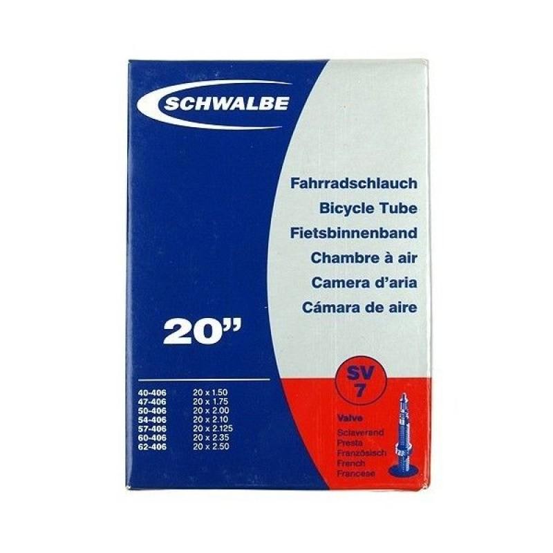 Schwalbe SV7 Hybrid Tube Presta Valve (20 x 1.50-2.35)