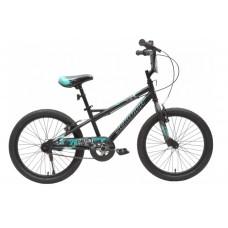 Schwinn Drift 20T Kids Bike Black Green
