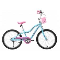 Schwinn Mist 20T Girls Kids Bike Blue Pink