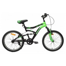 Schwinn Piston 20T Kids Bike Black Green 2018 (PMS802C)