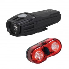 Serfas CP-N1 Headlight and Taillight Set