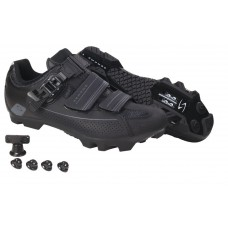 Serfas Mens Switchback Buckle MTB Cycling Shoe Black