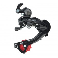 Shimano RD-TZ500 Tourney Rear Derailleur 6 Speed Medium Cage W/Riveted Adaptor