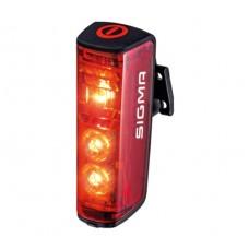 Sigma Sport Blaze Smart Rear Bike Light With Brake Light Function Red