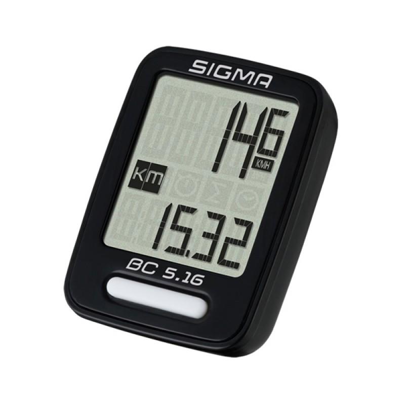 Sigma Sport BC 5.16 Wired Bike Computer