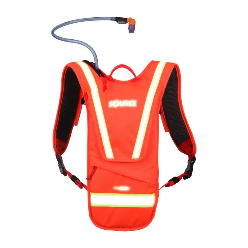 Source Firefly iVis Hydration Pack Orange, 2L