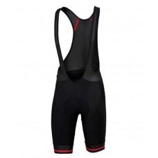 Sportful Classic GF Bib Shorts Black Red