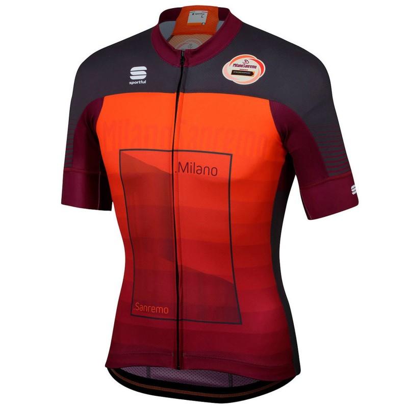 Sportful Milan Sanremo Short Sleeves Jersey Orange