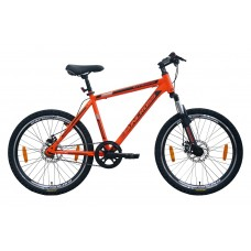 Suncross 24 Integra Mountain Bike Black Orange Grey Black