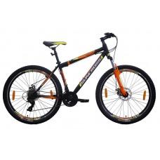 Suncross 27.5x18 Toscano Mountain Bike Black Orange Neon Green