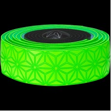 Supacaz Star Fade Bar Tape Neon Green Star
