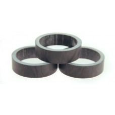 "Tangeseiki Alloy Spacer 5mm 1-1/8"" Black"