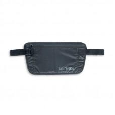 Tatonka Skin Document Belt-Hidden Flat Belly Bag Black