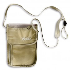 Tatonka Skin Friendly Small, Lightweight Neck Pouch For Travel Natural