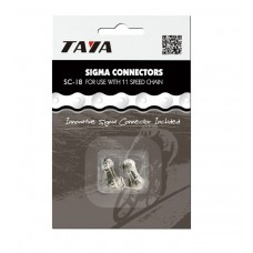 Taya Single Speed chain SC-18 Silver/Silver