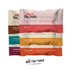 The Whole Truth (Formerly 'And Nothing Else') 12g Protein Bar Assorted Flavours Pack of 6