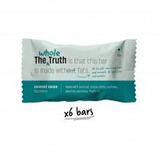 The Whole Truth 12g Protein Bar Coconut Cocoa Pack of 6