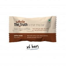 The Whole Truth 12g Protein Bar Coffee Cocoa Pack of 6