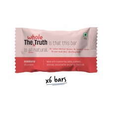 The Whole Truth (Formerly 'And Nothing Else') 12g Protein Bar Cranberry Pack of 6