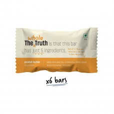 The Whole Truth 12g Protein Bar Peanut Butter Pack of 6