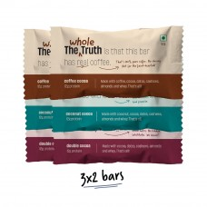 The Whole Truth (Formerly 'And Nothing Else') 12g Variety Pack Of Protein Bar Pack of 6