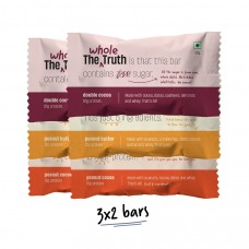 The Whole Truth Protein Bar Peanut Heavy Pack of 6