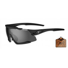 Tifosi Aethon Interchangeable Glasses Black Smoke (Smoke, AC Red And Clear Lenses)