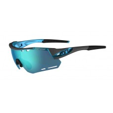 Tifosi Alliant Gunmetal Glasses Clarion Blue (Clarion Blue, AC Red And Clear Lenses)