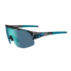 Tifosi Sledge Interchangeable Glasses Crystal Smoke (Clarion Blue, AC Red And Clear Lenses)