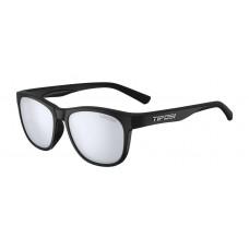 Tifosi Swank Satin Glasses Black ( Smoke Bright Blue Lens)