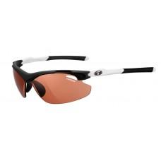 Tifosi Tyrant 2.0 Black White Glasses High Speed Red