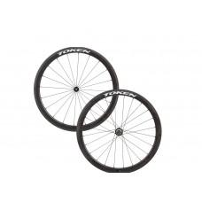 Token C45R Premium Carbon Clincher Wheelset