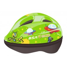 Track & Trail BSA Champ Space Toonz Kid Helmet Green 2-5 Years (Y03XS)