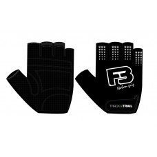 Track & Trail F3 Fabric Half Finger Gloves Black (AI-03-323)