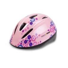 Track & Trail Flora 2-5 Year Helmet Light Pink (HC-01)