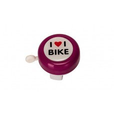 Track & Trail iloveibike Bicycle Bell Pink