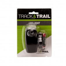 Track & Trail Stobe 5.1S Front Light Black (JY-286)
