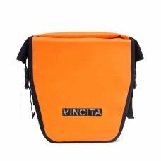 Vincita Waterproof Single Pannier Large Orange