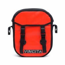 Vincita Waterproof Single Pannier Small Red