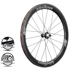 Vision Metron 55 SL Front Wheel Clincher Gray