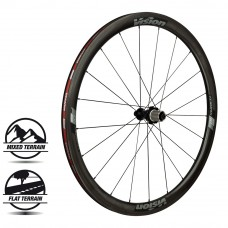 Vision Trimax Carbon 40 Front Wheel Clincher (WH-VT-302-F)
