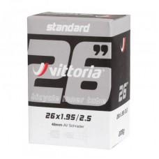 Vittoria 26x1.95/2.5 Schrader 48mm Standard Bicycle Tube