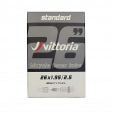 Vittoria 26X1.95/2.50 Presta 48mm Standard Bicycle Tube