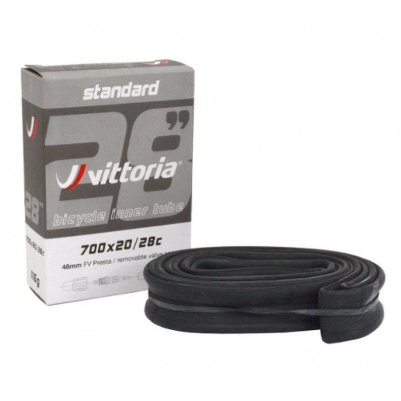 Vittoria 700x20/28 Presta RVC 48mm Standard Bicycle Tube
