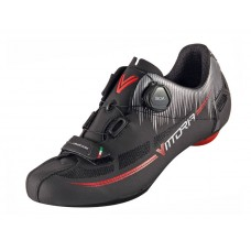 Vittoria Fusion Nylon Sole Road Cycling Shoe Black