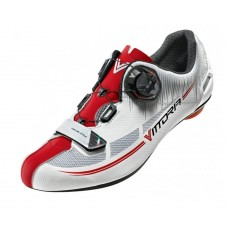 Vittoria Fusion Nylon Sole Road Cycling Shoe Red White