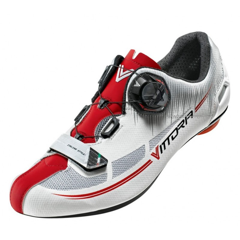 Vittoria Fusion Road Shoes Red/White
